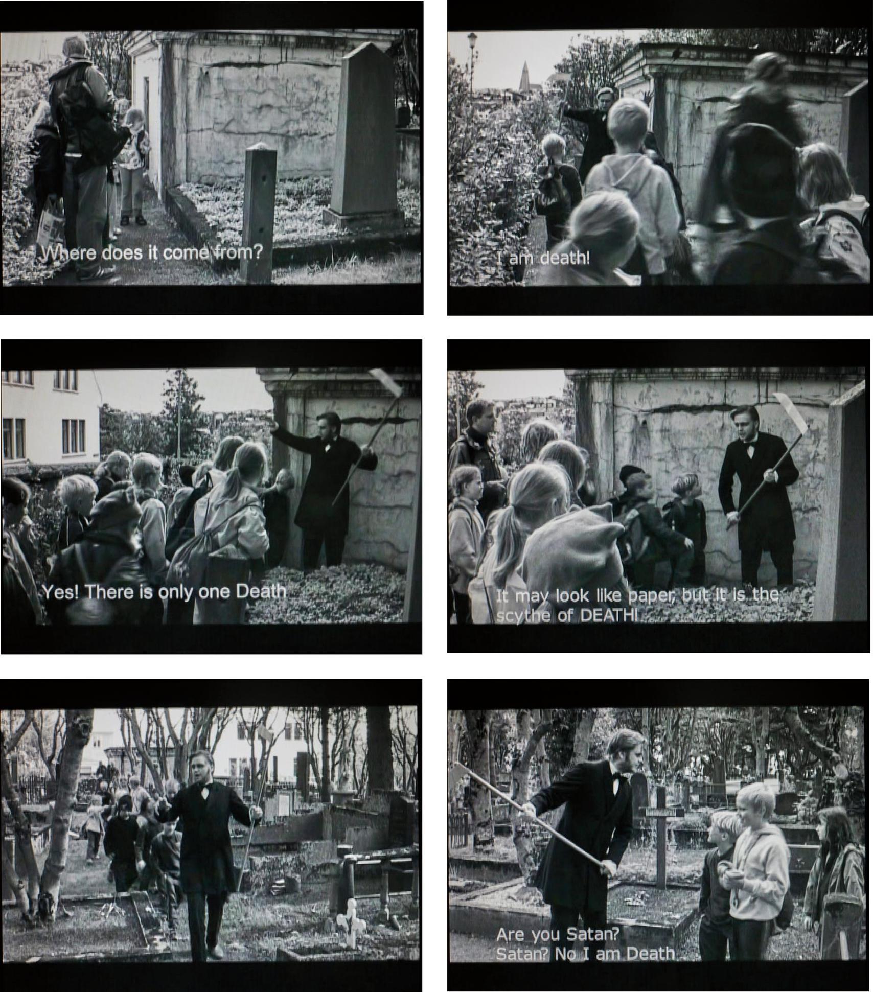 Ragnar Kjartansson-Death And The Children-2002