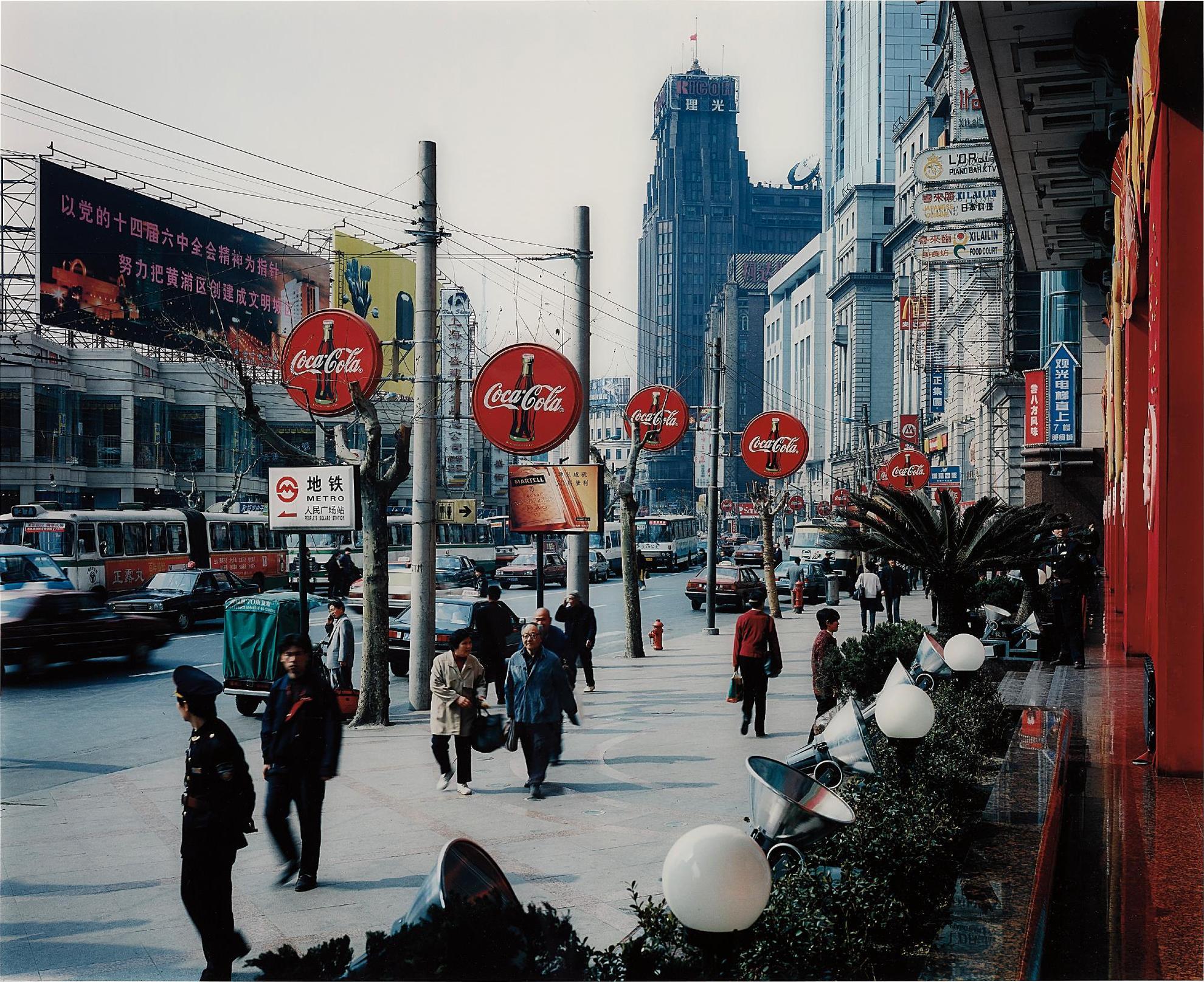 Thomas Struth-Wangfujing Dong Lu, Shanghai-1998