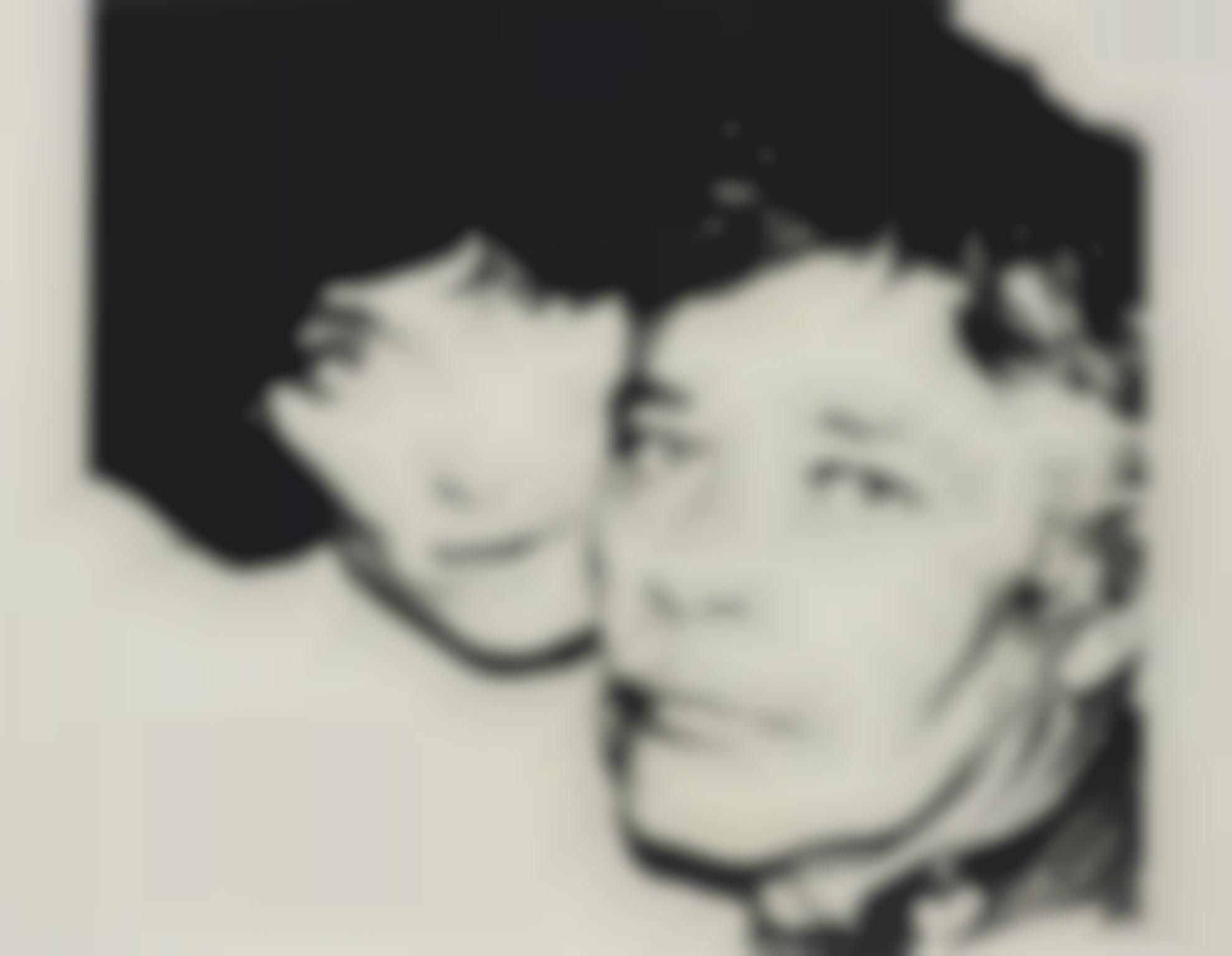 Andy Warhol-John And Lorraine Chamberlain-1978