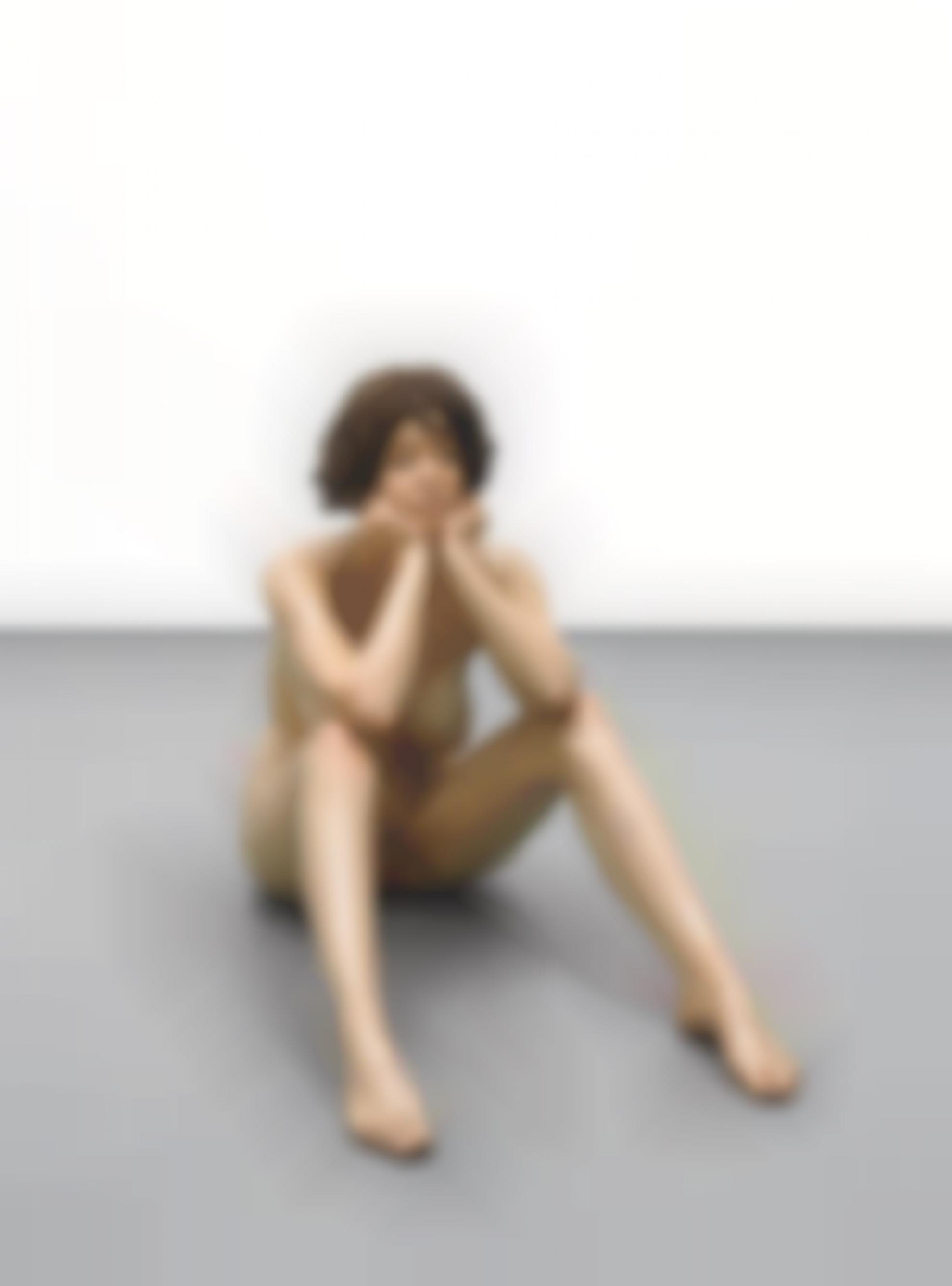 John DeAndrea-Sitting Woman-1972