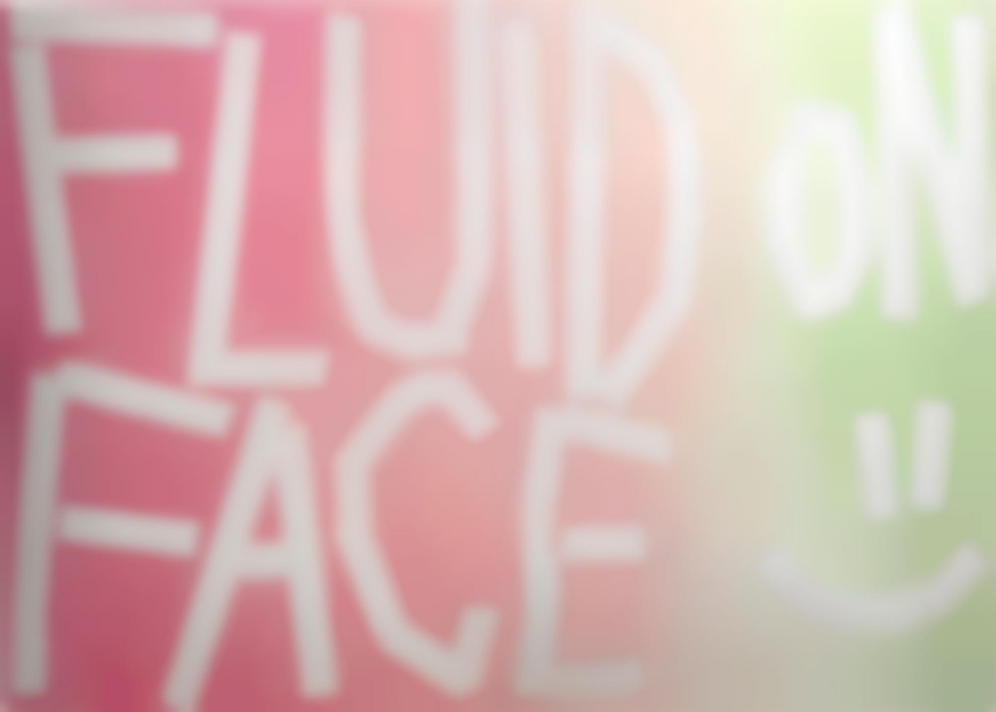 Eddie Peake-Fluid On Face-2013