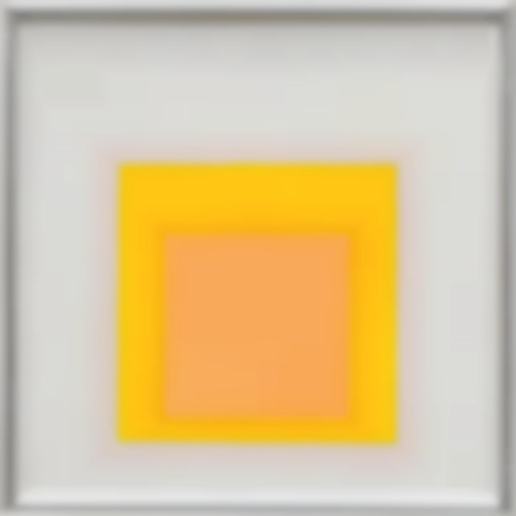 Josef Albers-Study For Homage For The Square; Sel: E. B. 4-1959