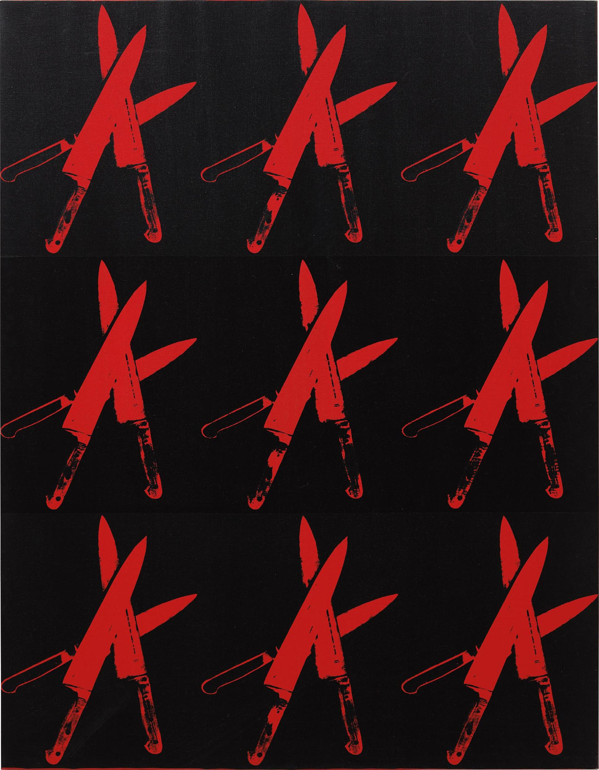 Andy Warhol-Knives-1982