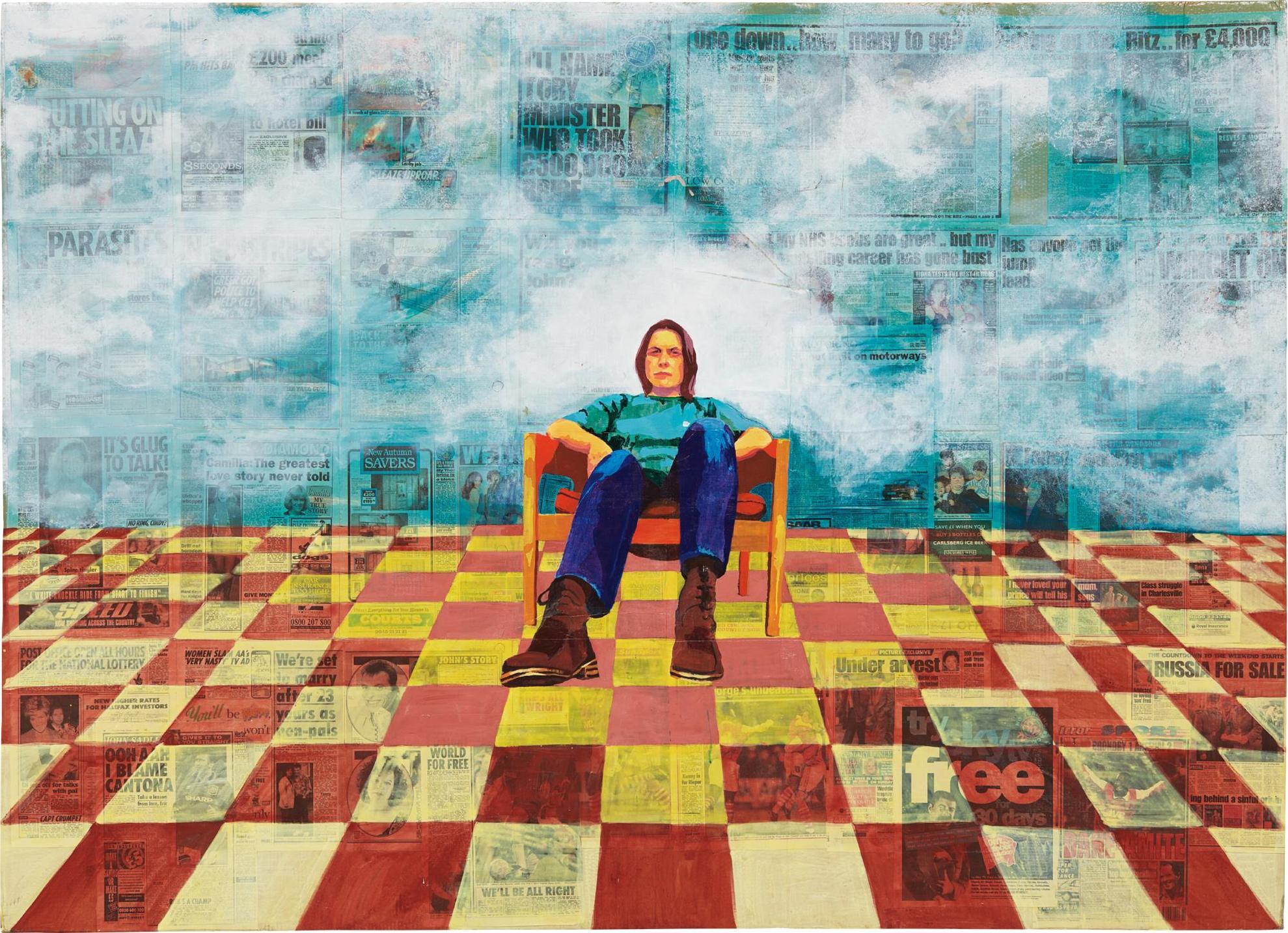 Sarah Lucas-Supersensible-1995