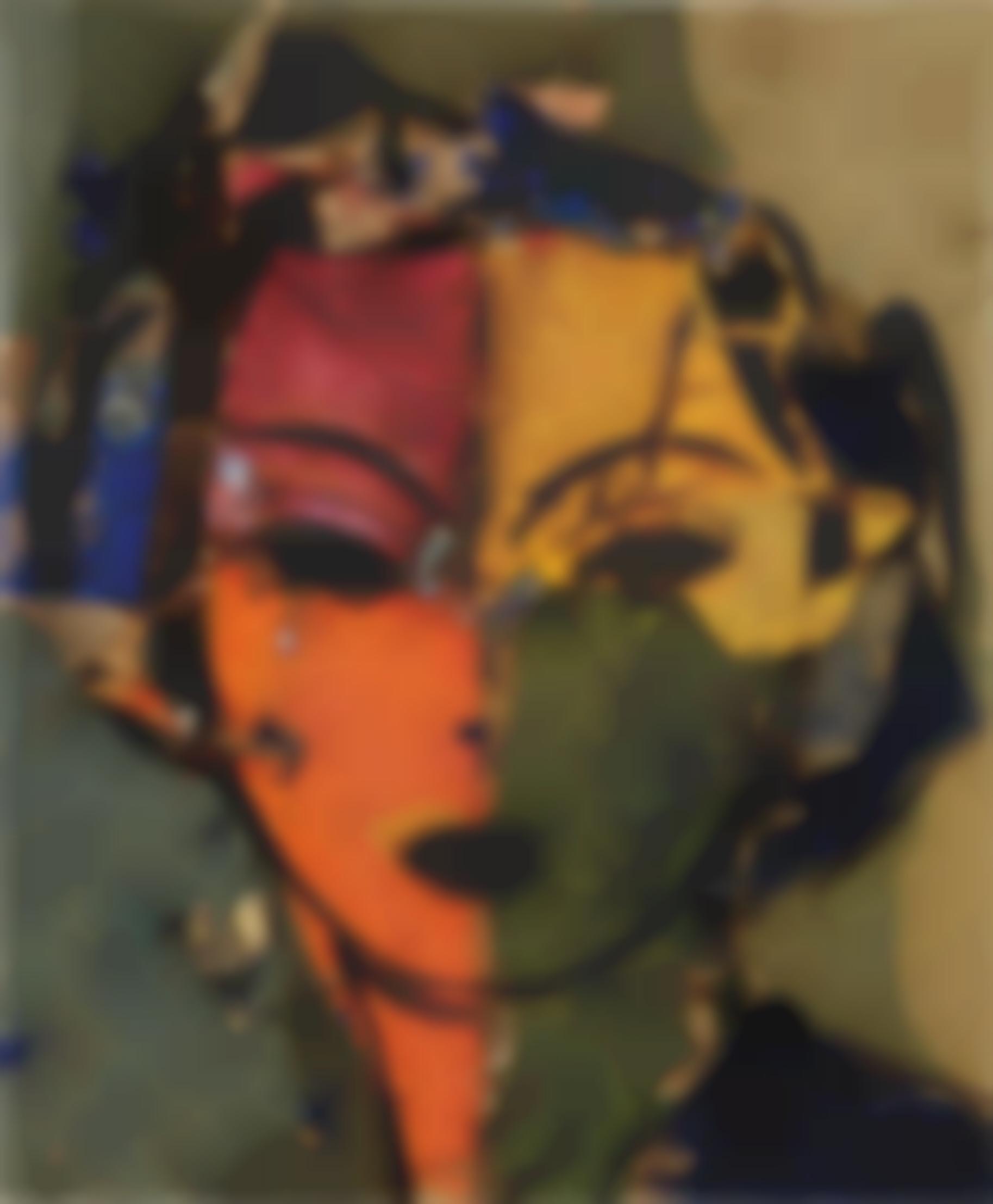 Manolo Valdes-Retrato De Dorothy III-2000