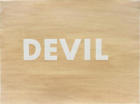 Ed Ruscha-Devil-1975