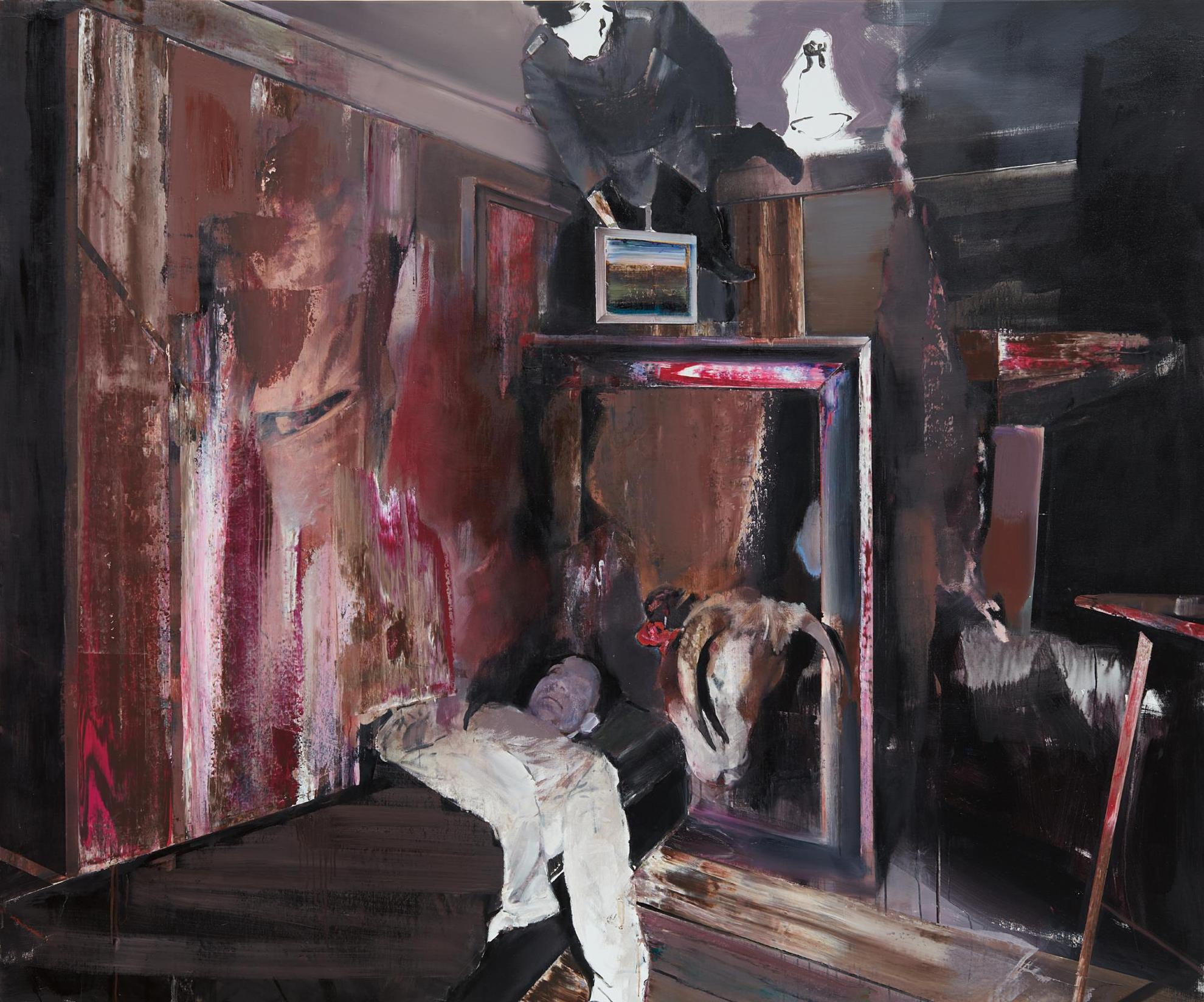 Adrian Ghenie-The Collector 4-2009
