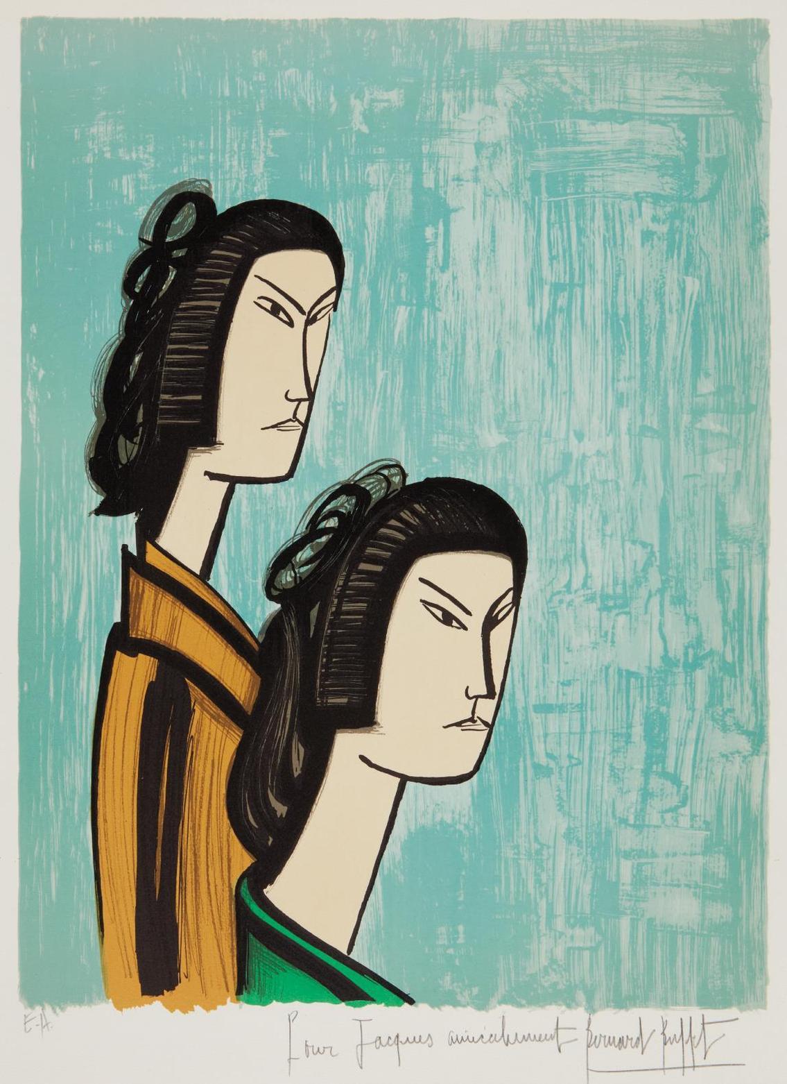 Bernard Buffet-Japonaises (Japanese Women)-1981
