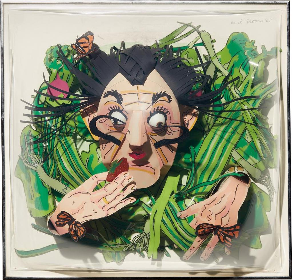 Red Grooms-Dali Salad II-1980