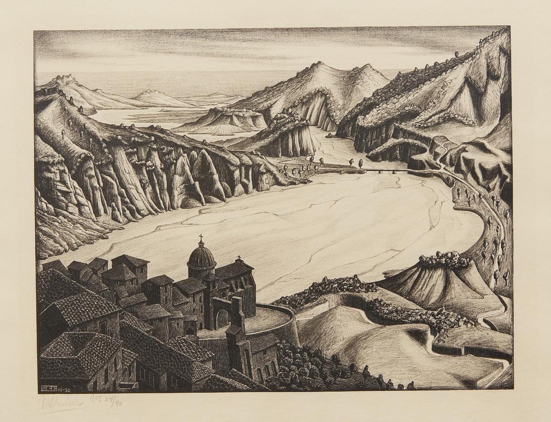 Maurits Cornelis Escher-Fiumara (Of Stilo), Calabria-1930
