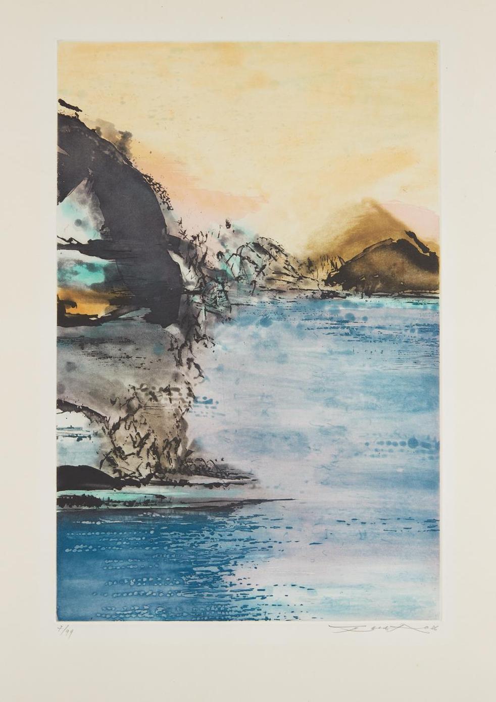 Zao Wou-Ki-Untitled-1986
