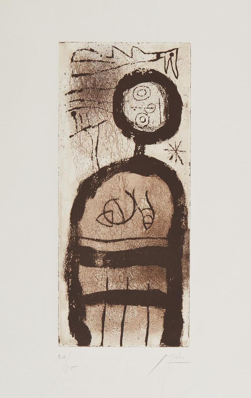 Joan Miro-La Creole (The Creole)-1958