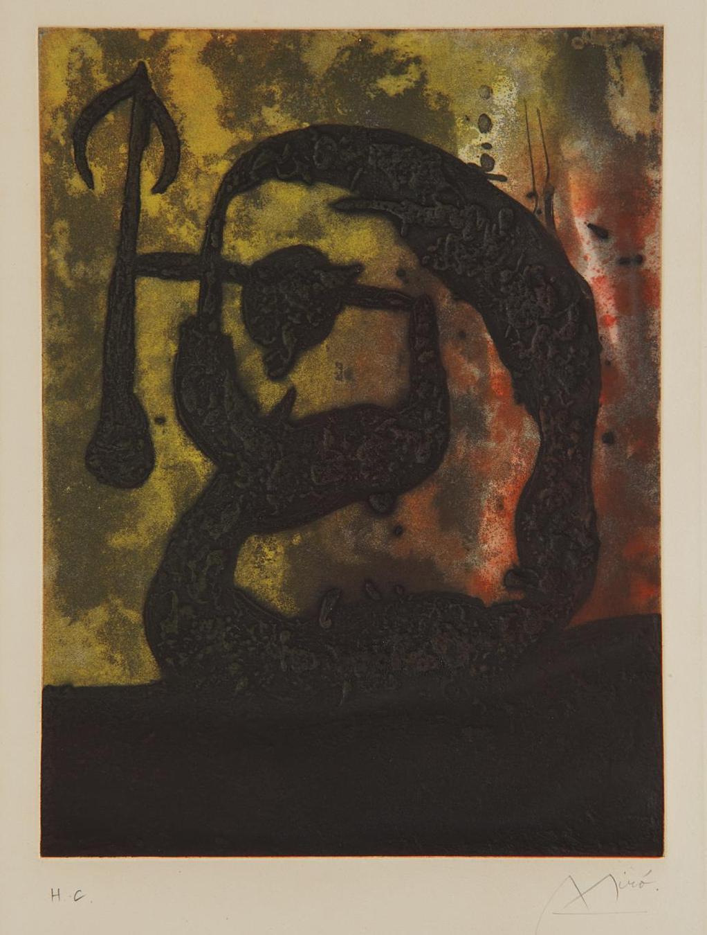 Joan Miro-Tete Fleche (Arrow Head)-1968