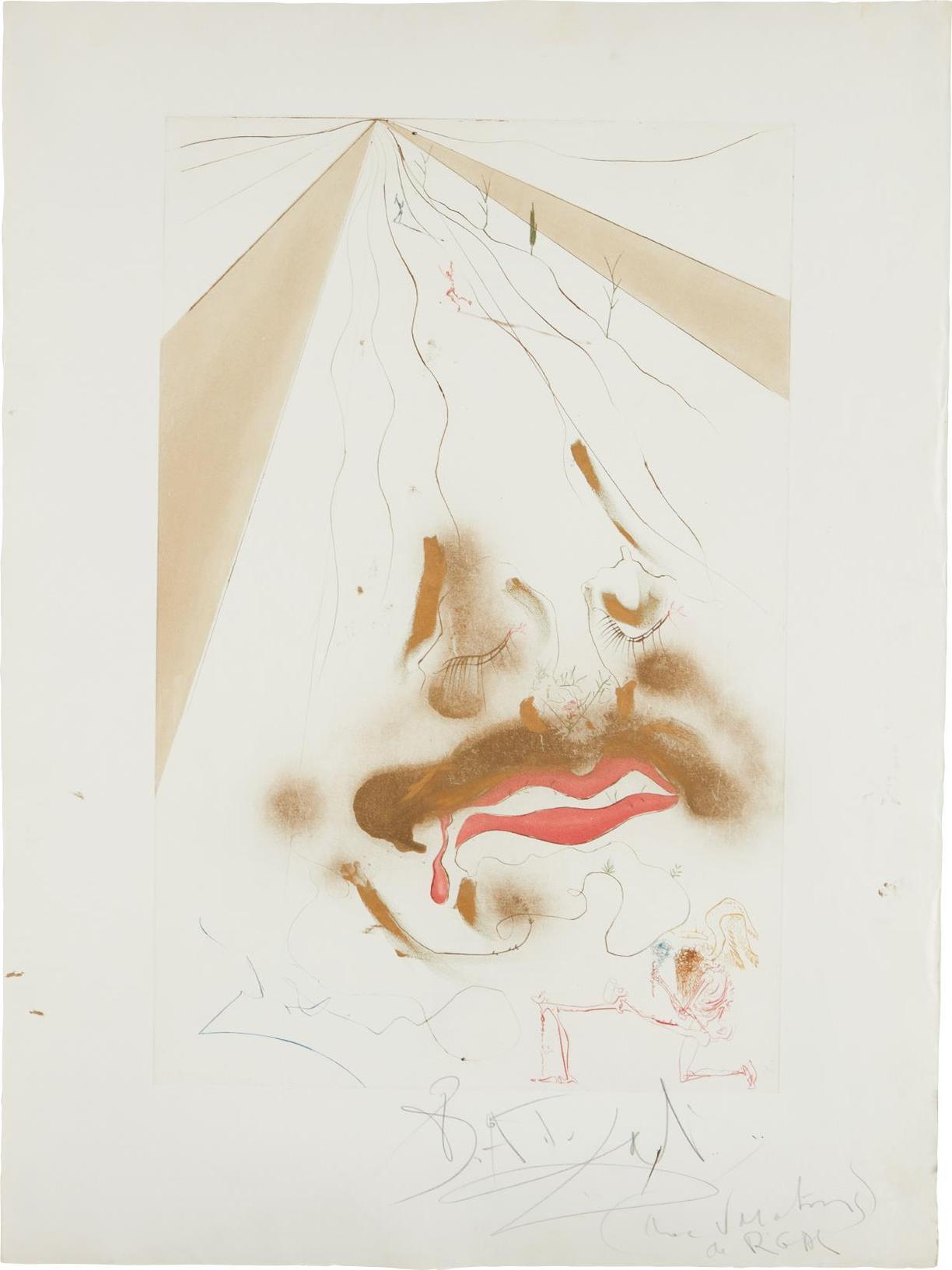 Salvador Dali-Transfiguration-1972