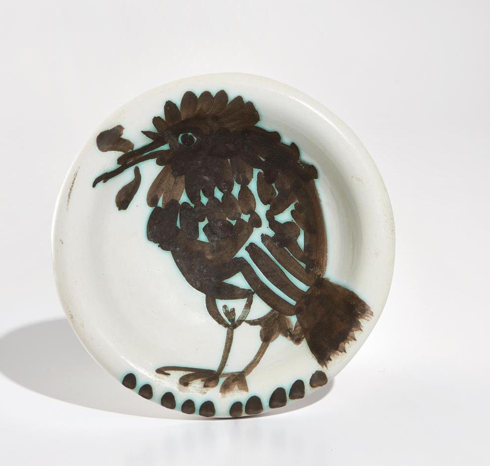 Pablo Picasso-Bird With Worm (Oiseau Au Ver)-1952