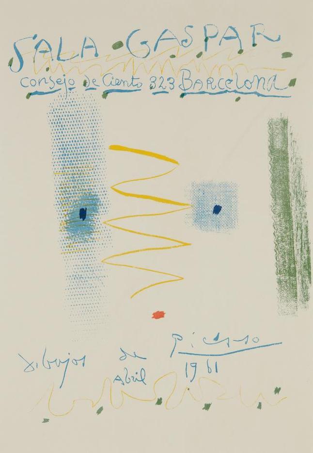 Pablo Picasso-Sala Gaspar Poster-1961