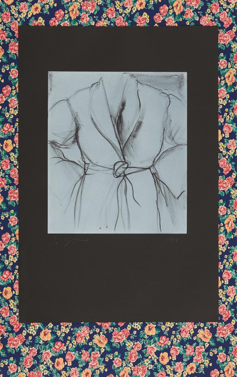 Jim Dine-The Robe Goes To Town-1983