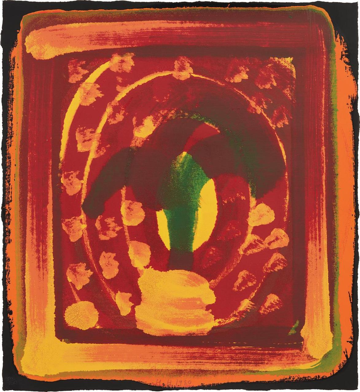Howard Hodgkin-Still Life-1980