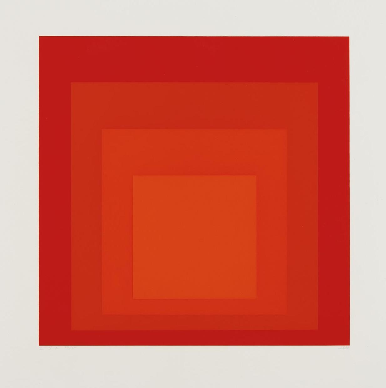 Josef Albers-I-S A-1968