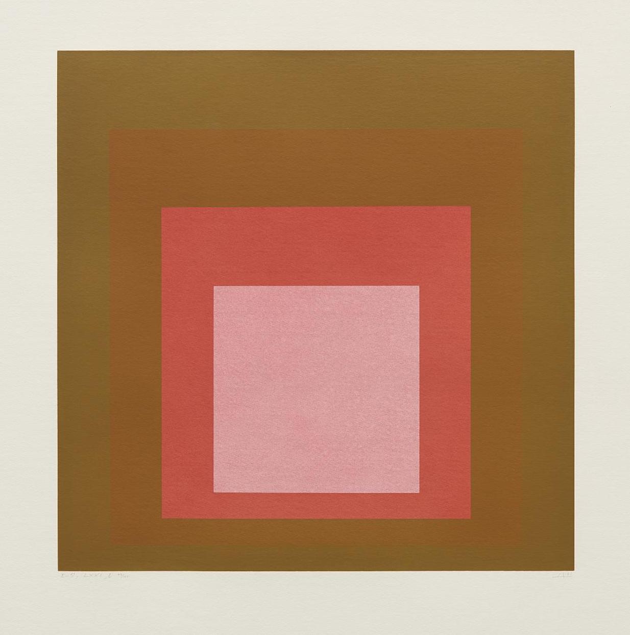 Josef Albers-I-S LXXI B-1971