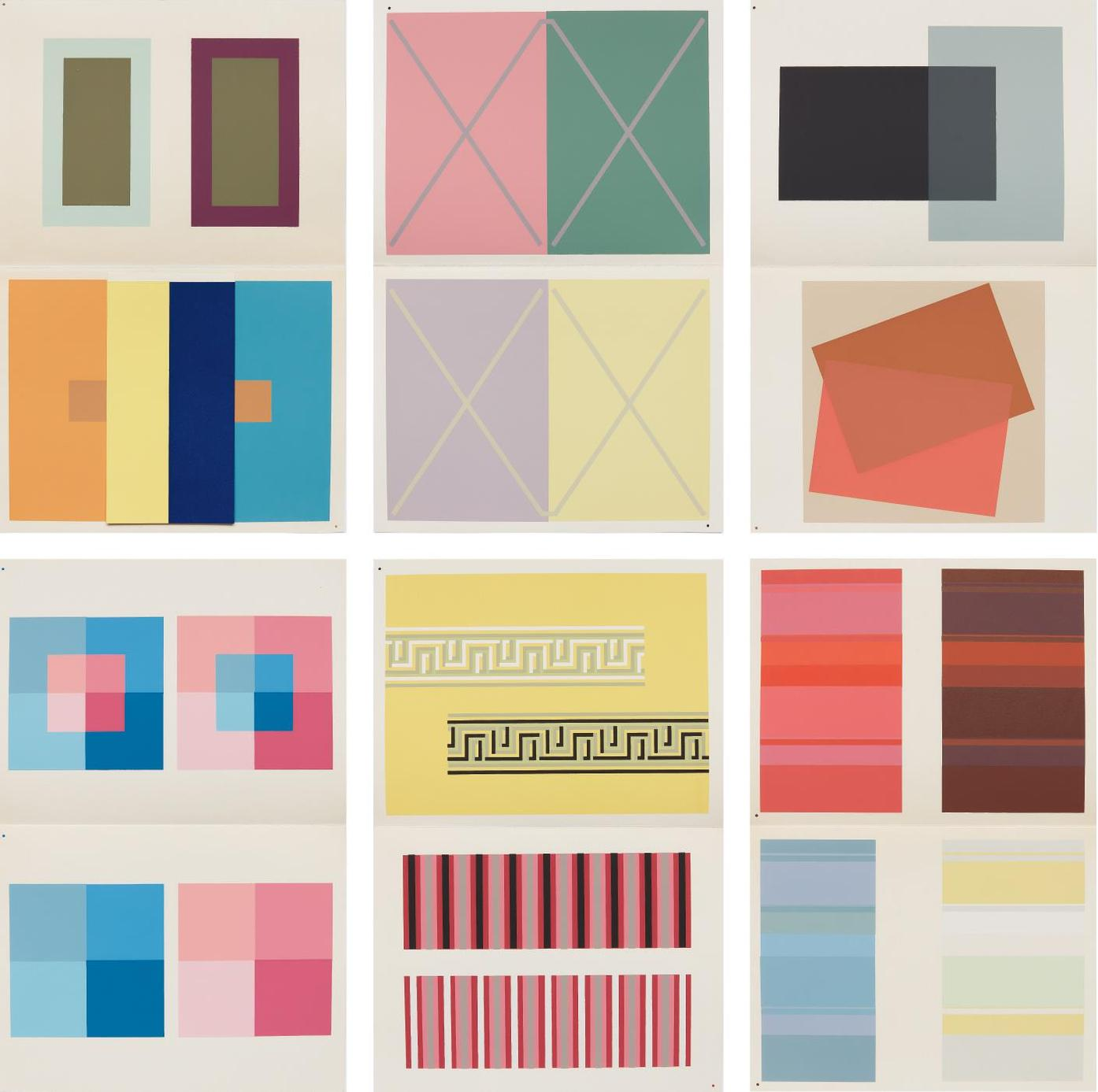 Josef Albers-The Interaction Of Color-1963