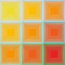 Richard Anuszkiewicz-Spectral 9 - A Variable Multiple-1969