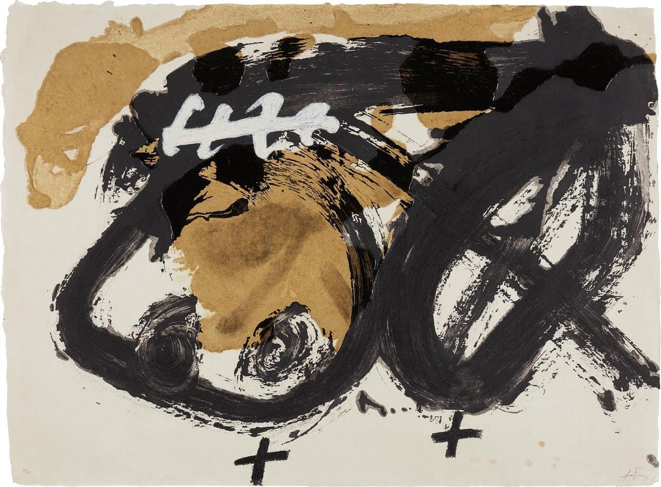 Antoni Tapies-Formes I Vernis-1986