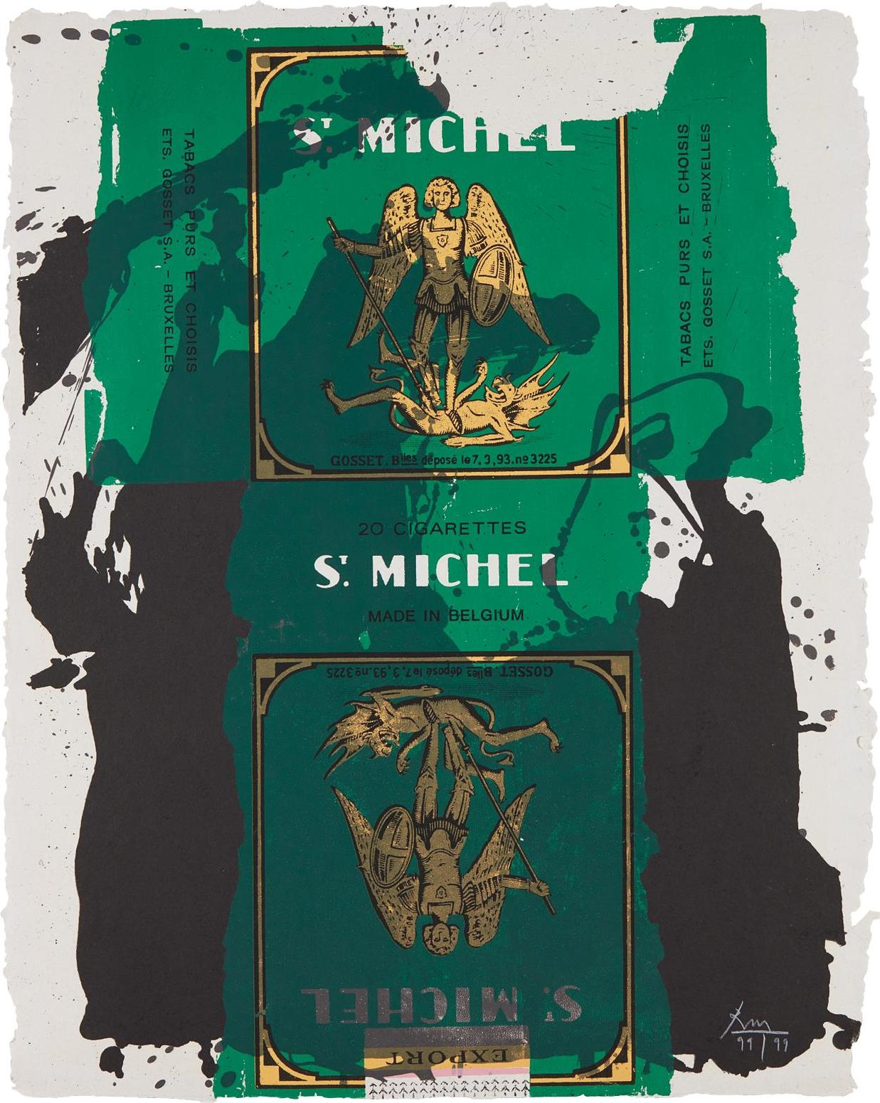 Robert Motherwell-St. Michael III-1979