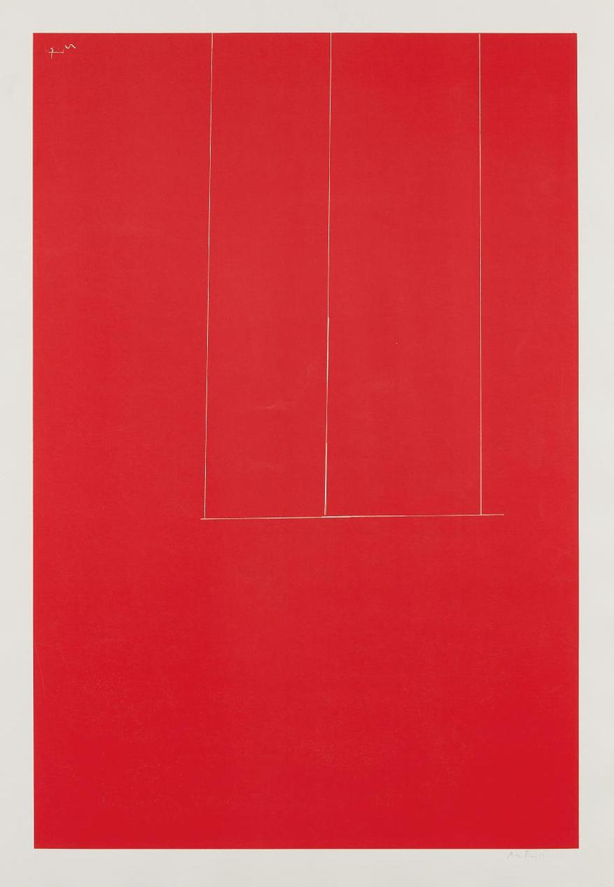 Robert Motherwell-Untitled, From London Series I-1971