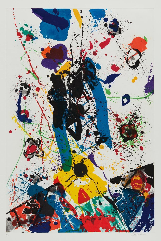 Sam Francis-Untitled (Sfe-031)-1985
