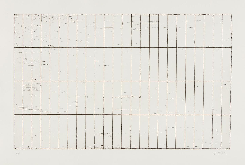 Brice Marden-Grid I-1971