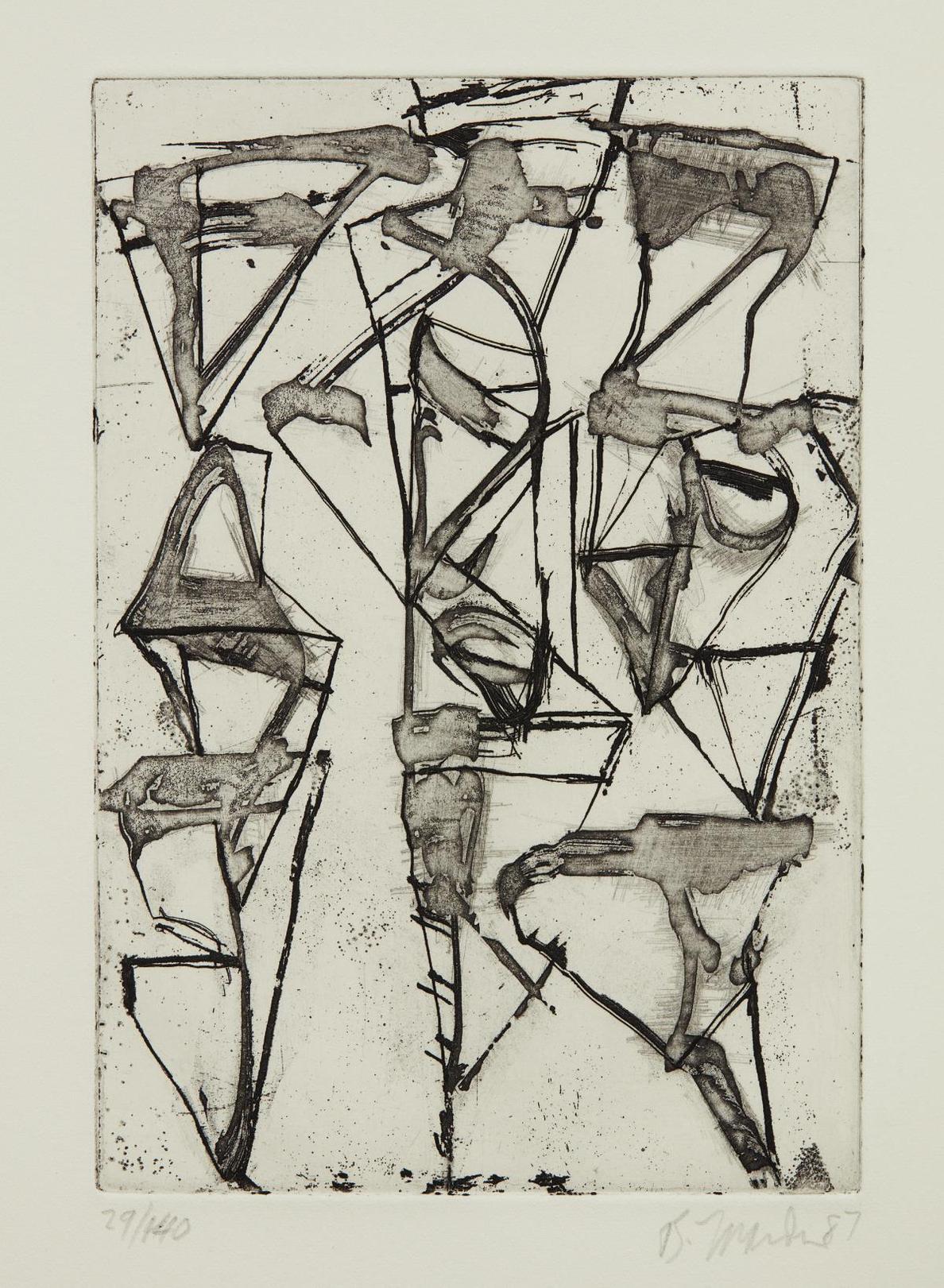 Brice Marden-Tu Fu-1987