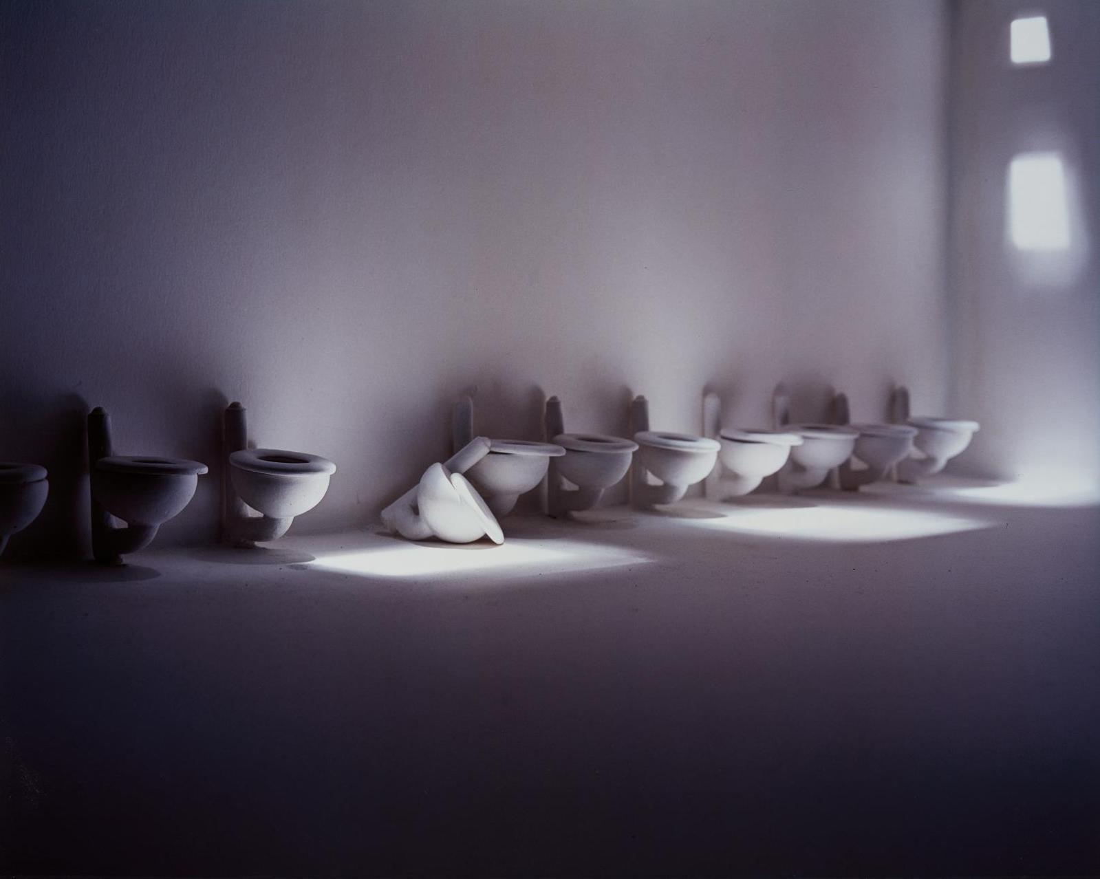 James Casebere-Toilets-1995