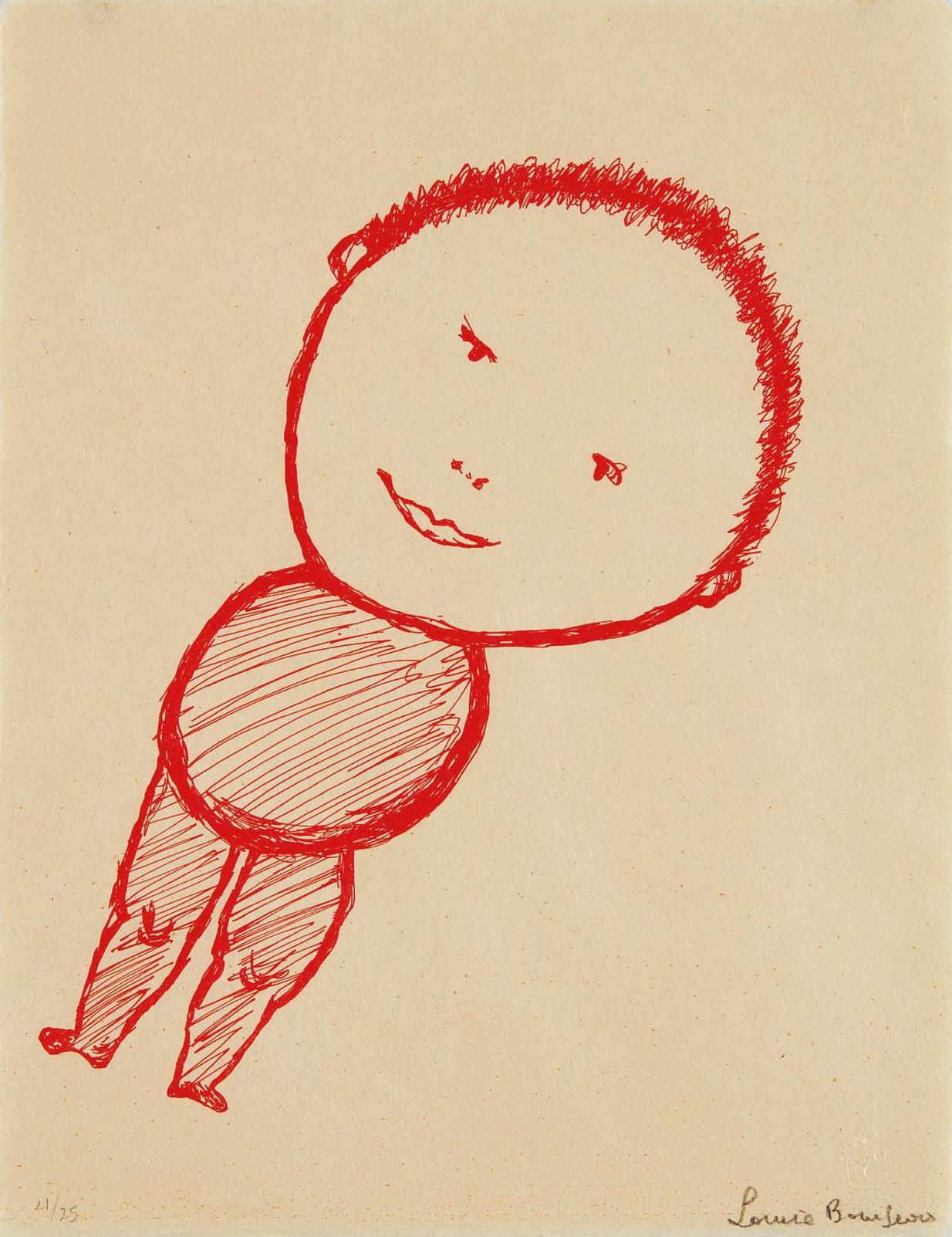 Louise Bourgeois-The Smile-2001