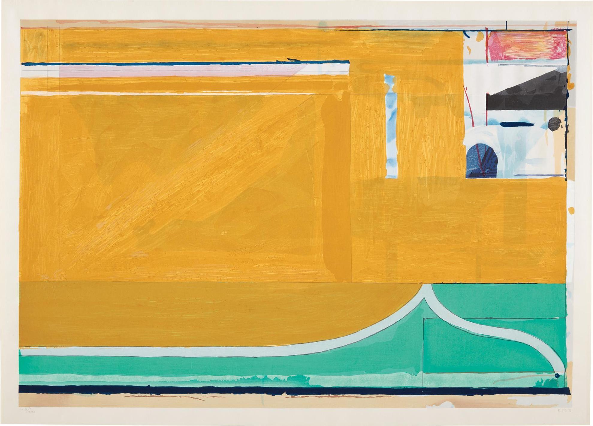 Richard Diebenkorn-Ochre-1983