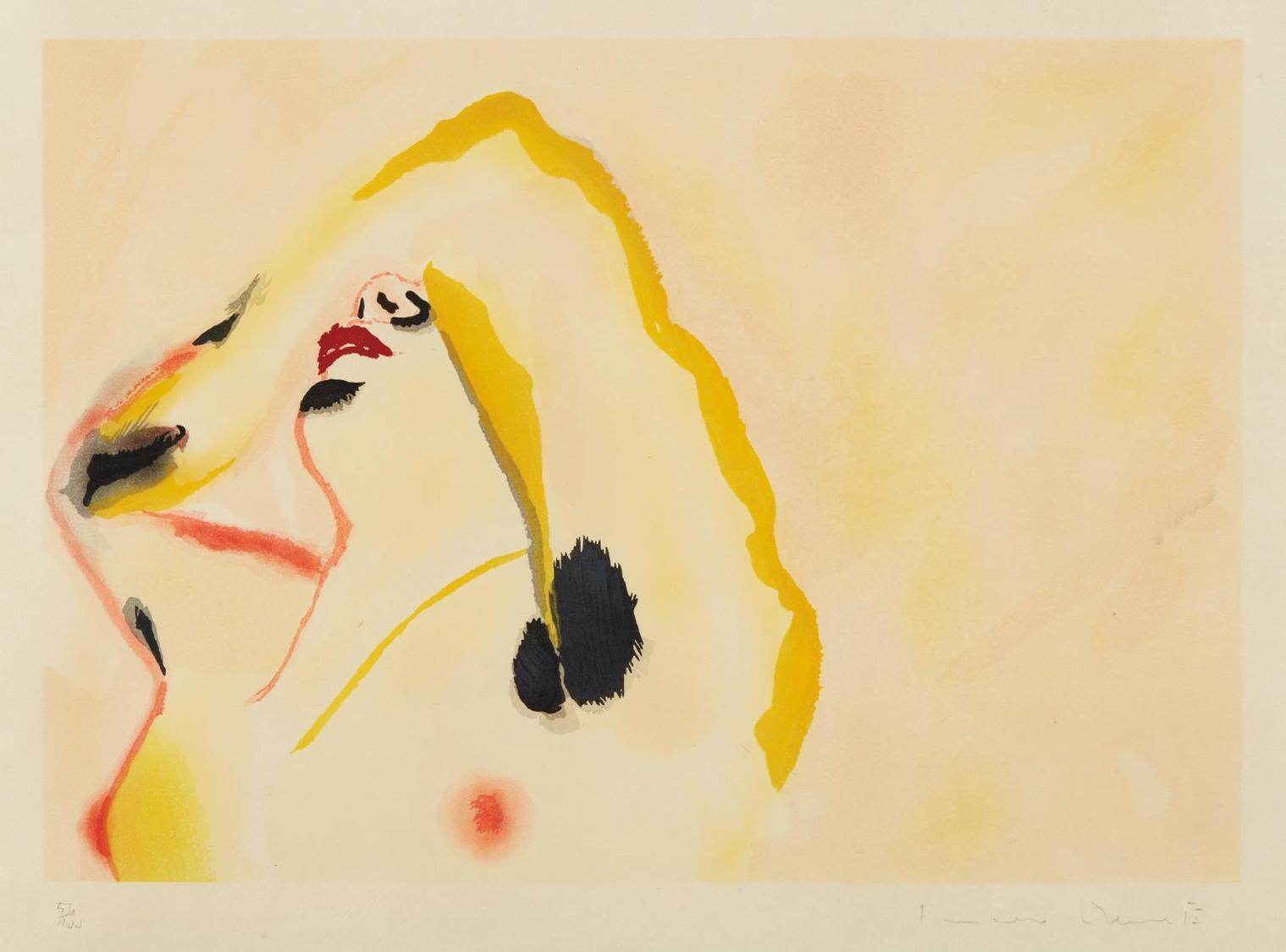 Francesco Clemente-Morning-1982