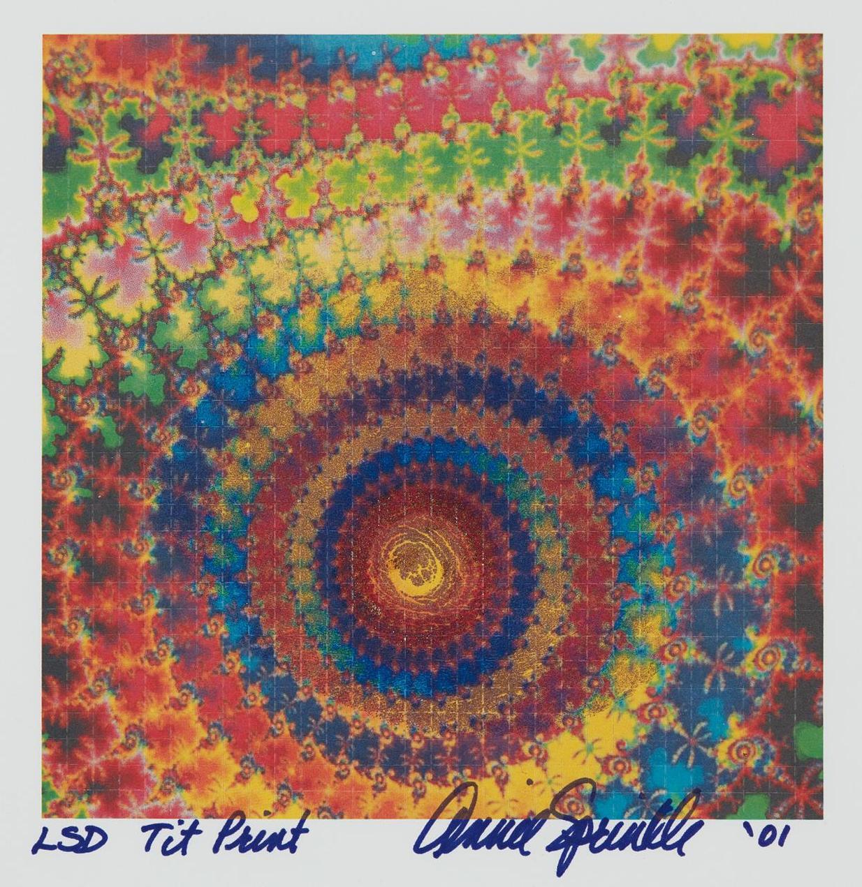 Annie Sprinkle - Lsd Tit Print-2001