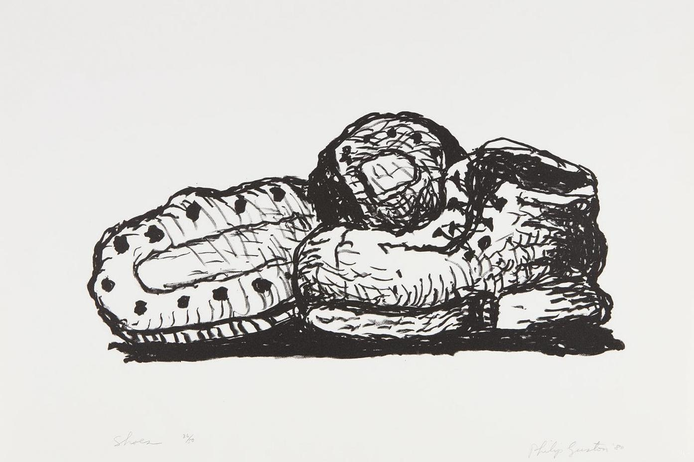 Philip Guston-Shoes-1980