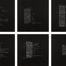 Joseph Kosuth-10 Unnumbered Corrections (7 Nights)-1991