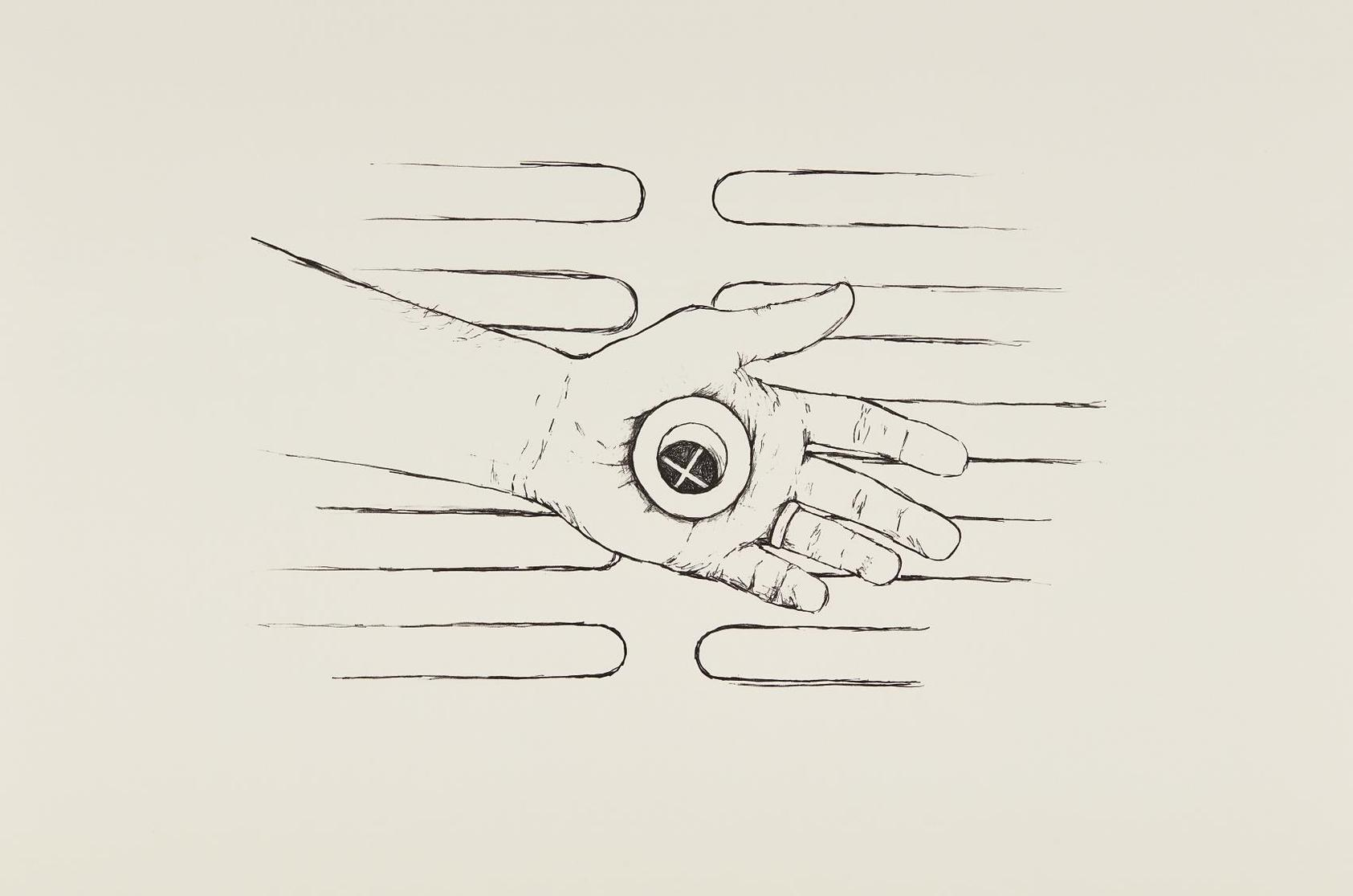 Robert Gober-Untitled (Hand Drain)-2000