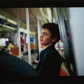 Nan Goldin-Simon On The Subway-1998