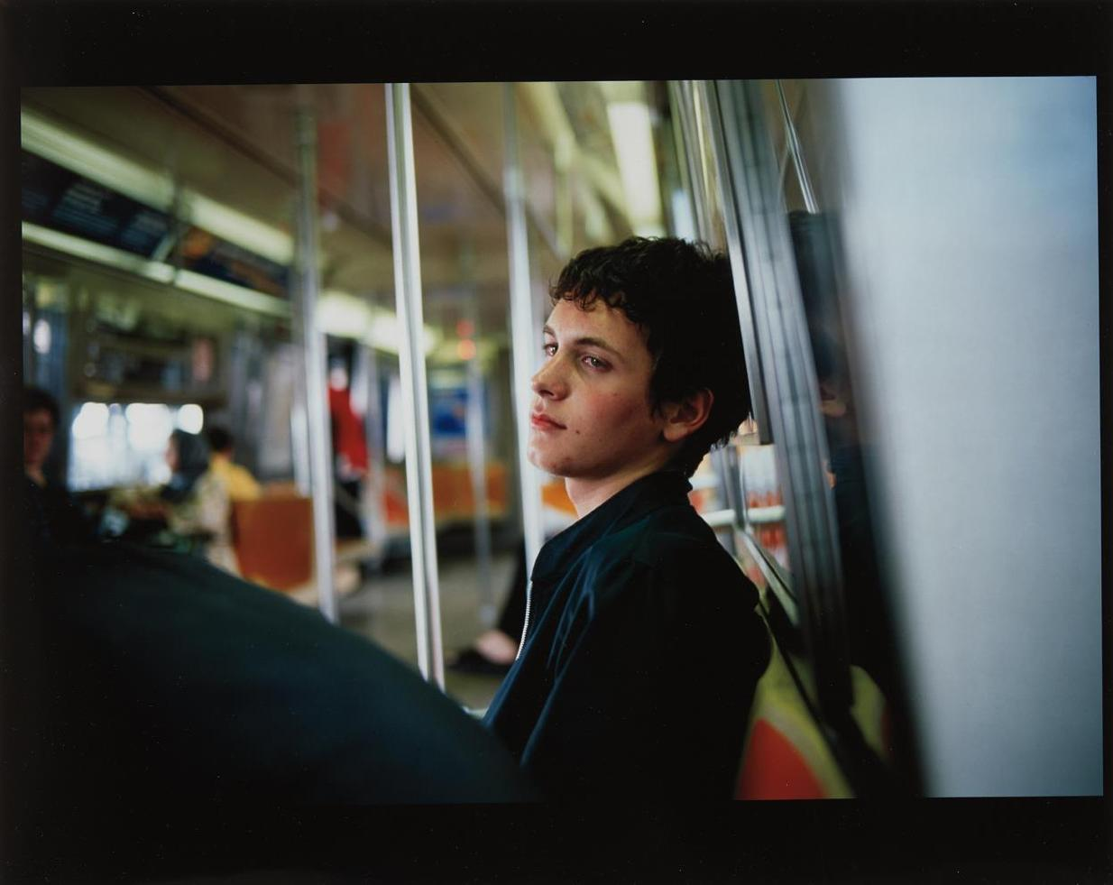 Nan Goldin-Simon On The Subway-1998