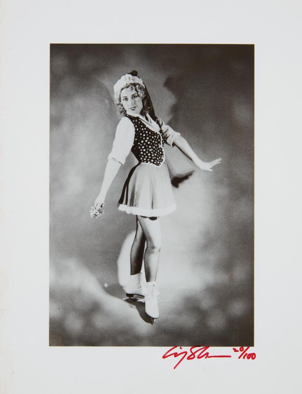 Cindy Sherman-Untitled (Ice Skater)-1979