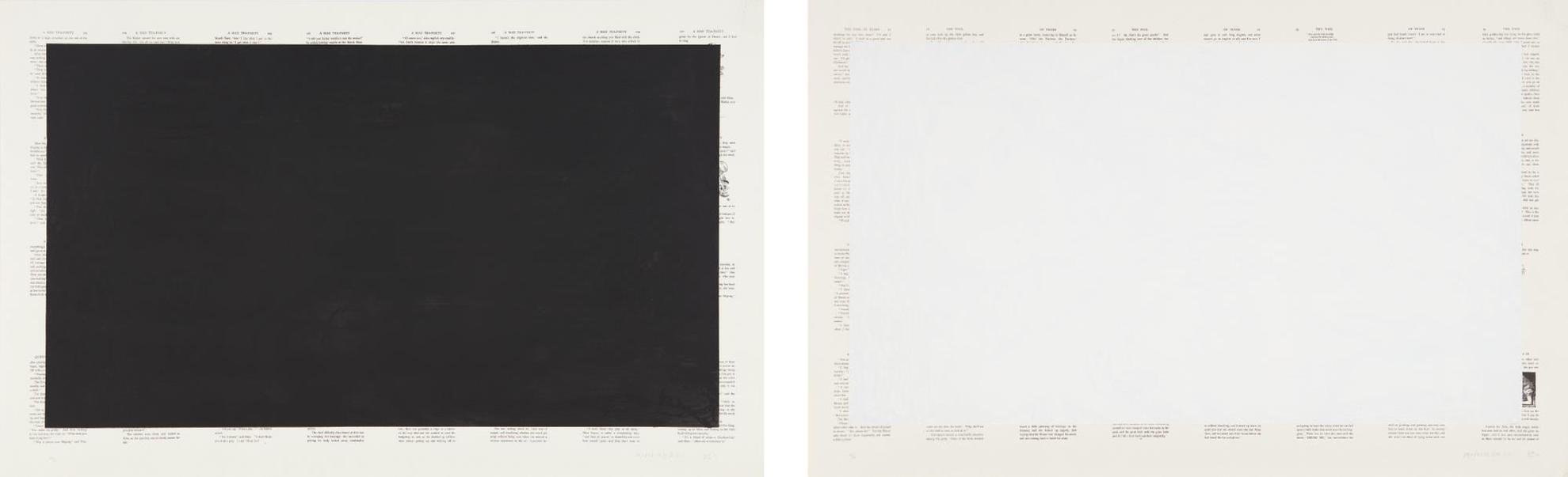 Tim Rollins-Black Alice; And White Alice-1989