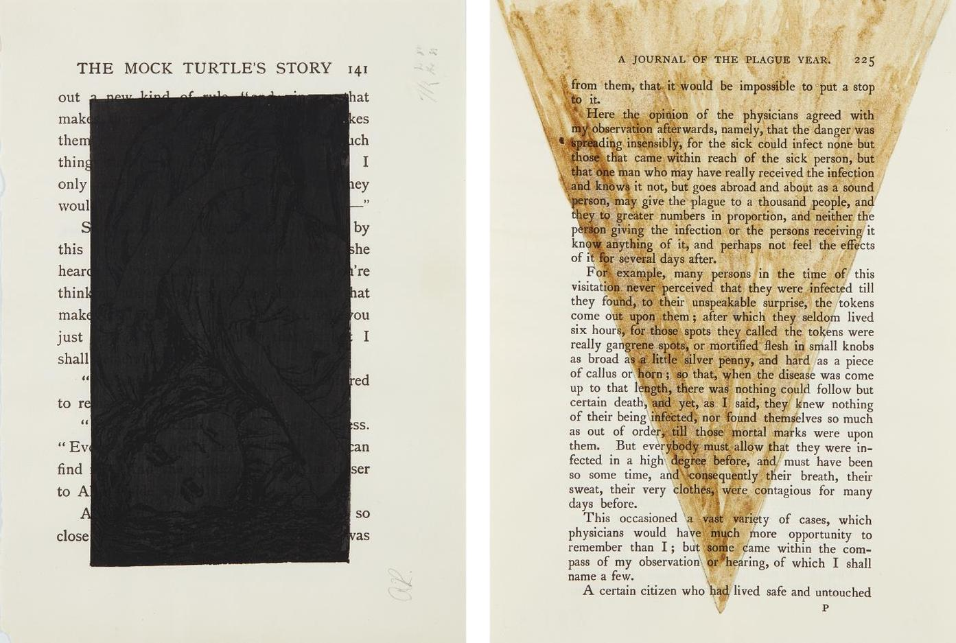 Tim Rollins-Black Alice; And A Journal Of The Plague Year-1988