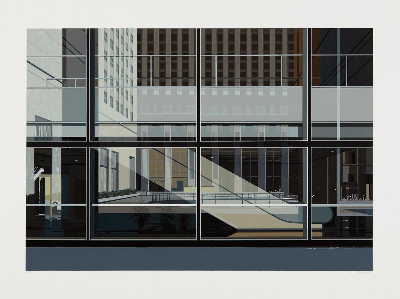 Richard Estes-Manhattan, From Urban Landscapes No. 3-1981