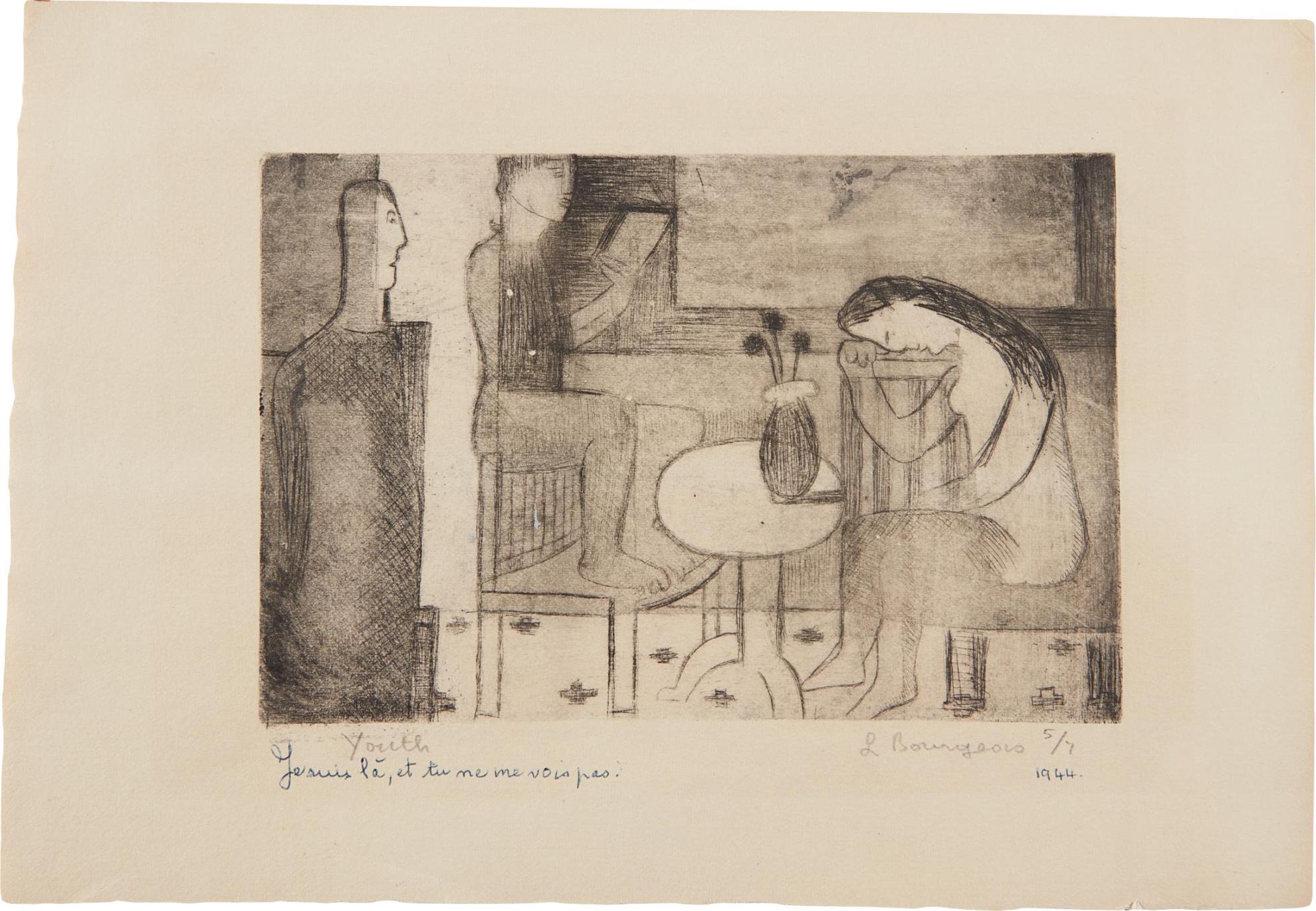 Louise Bourgeois-Jeunesse (Youth)-1944