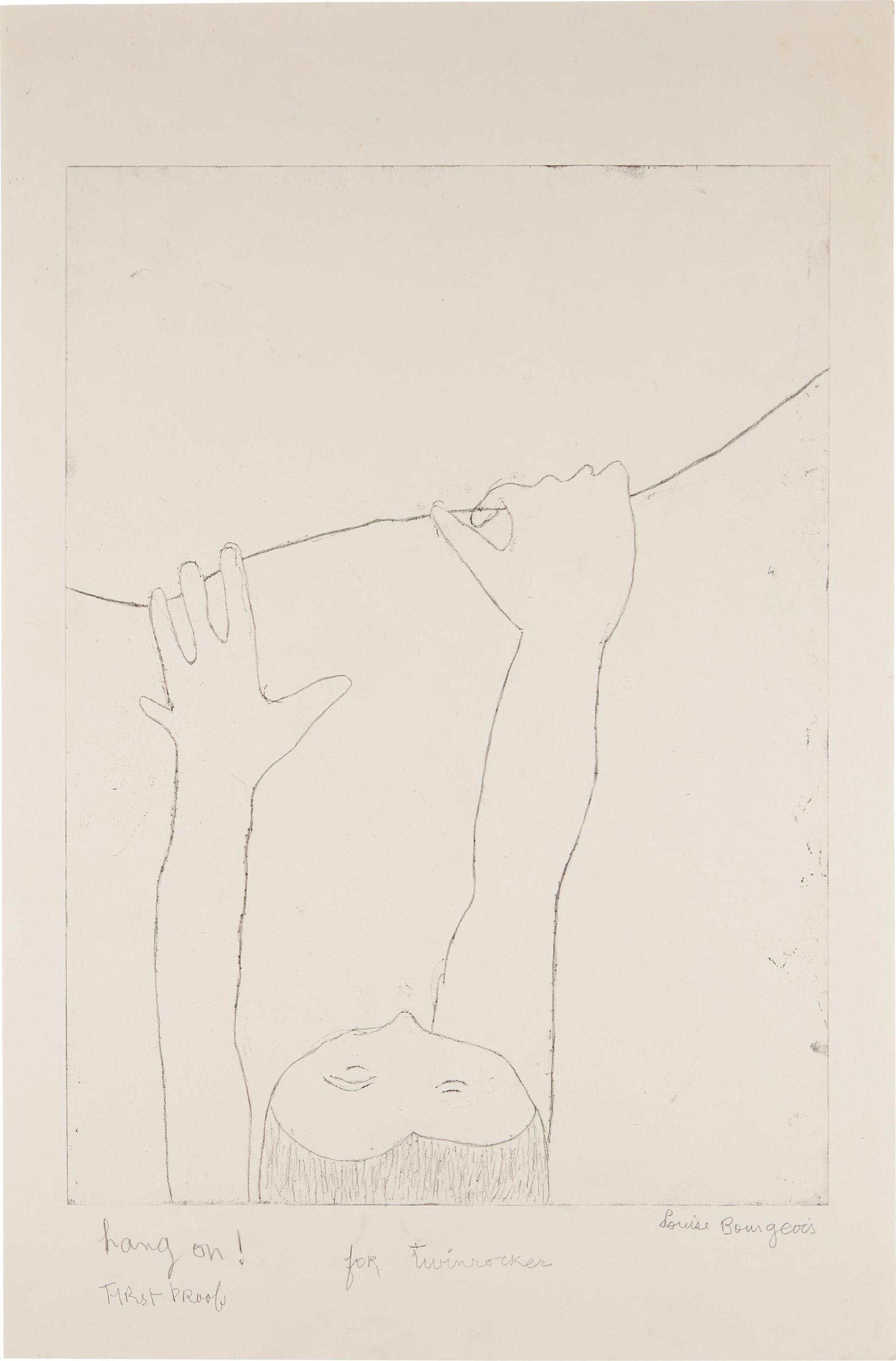 Louise Bourgeois-Hang On!-2002