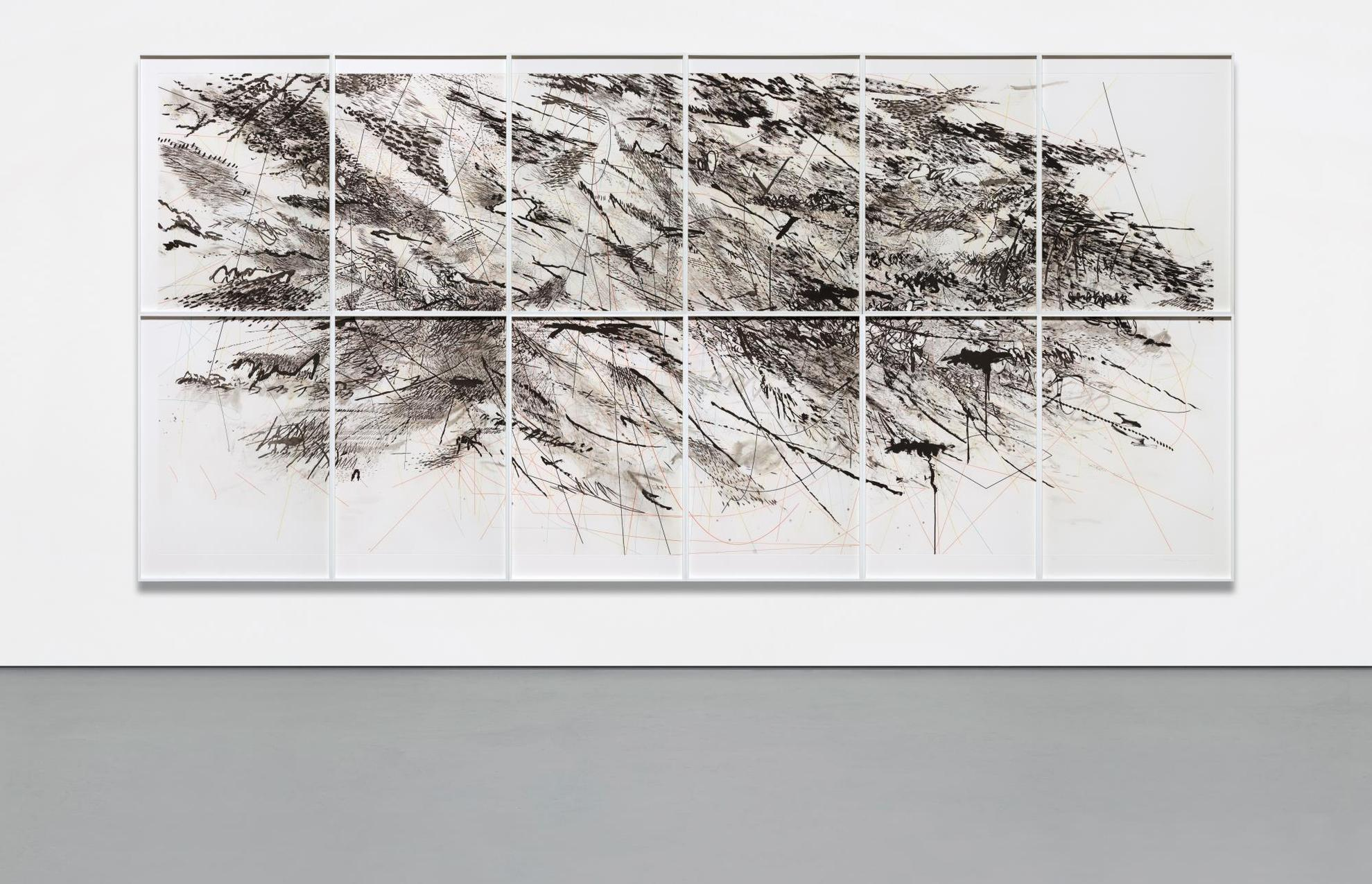 Julie Mehretu-Auguries-2010
