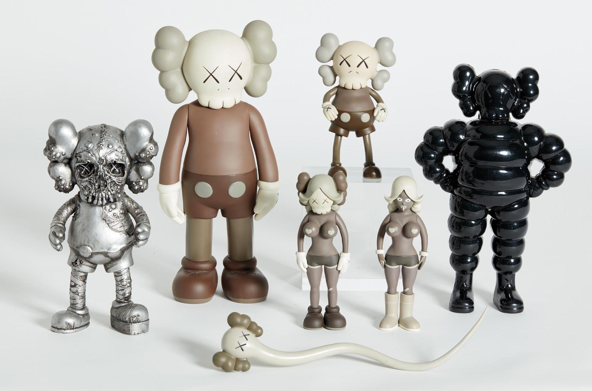 KAWS-Six Works: (Real) Companion; Chum; Bendy; Companion (Five Years Later); Pushead; And The Twins-2006